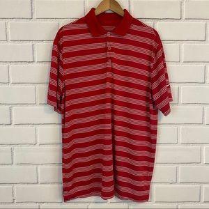Nike Golf Tour Performance Dri-Fit Striped Shirt